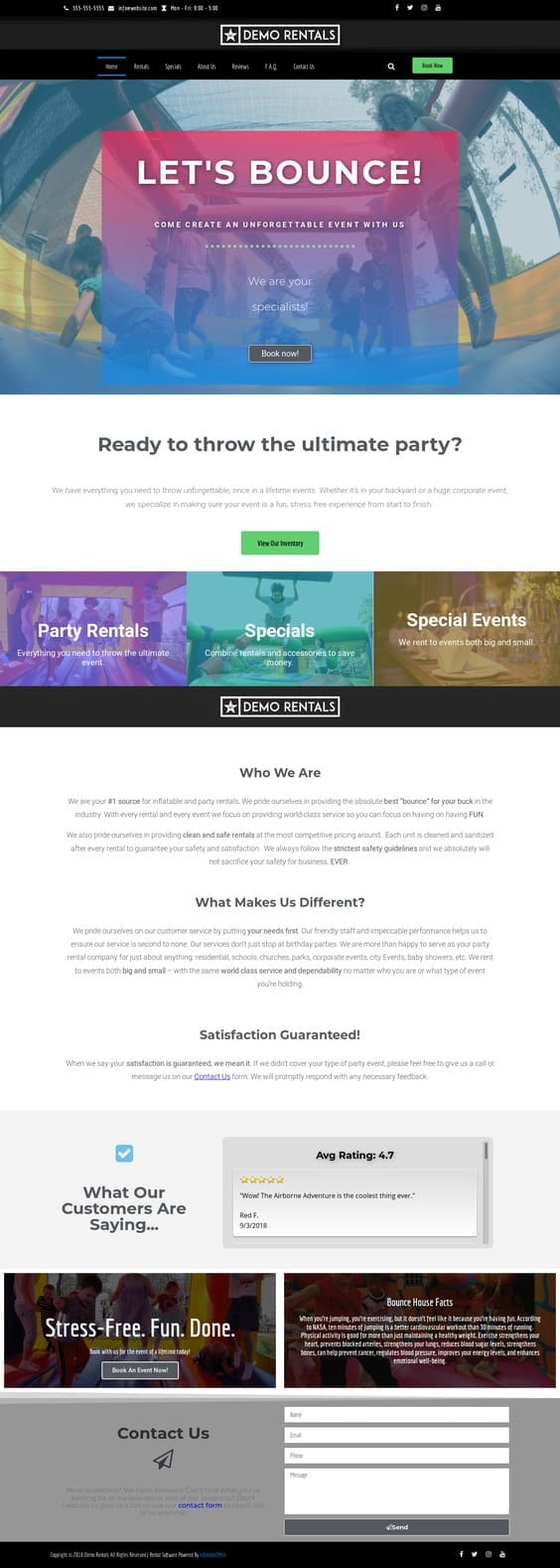 icebreaker homepage layout