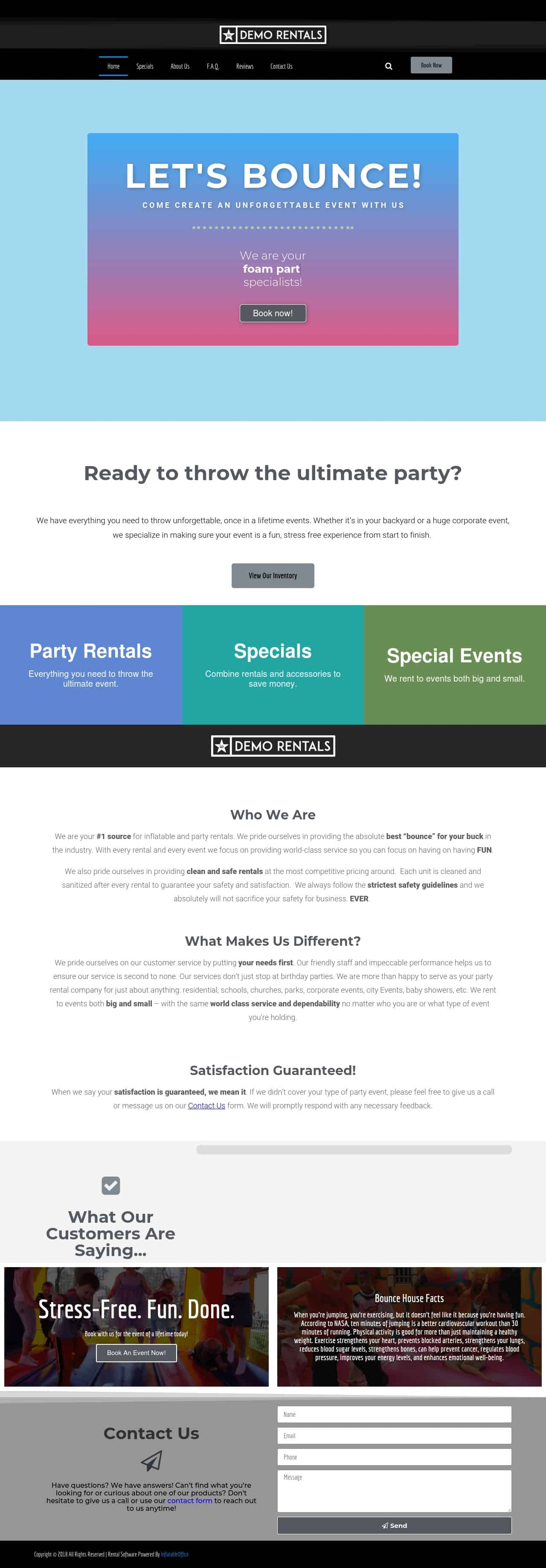 InflatableOffice Icebreaker Template