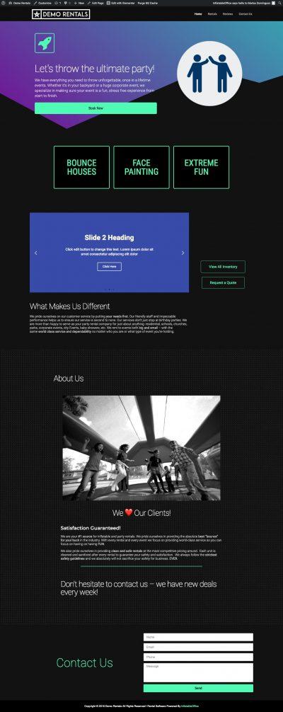InflatableOffice Basic Dark